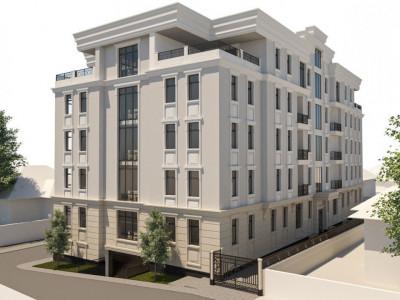 Casă de elită str. Moara Roșie / Apartament cu 2 odăi cu living / Ascensor, parcare, podele calde