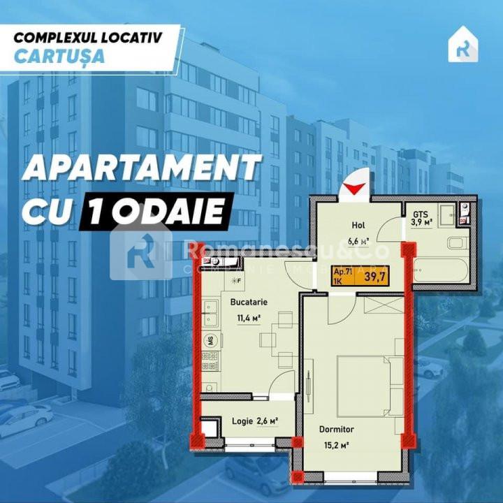Apartament cu o odaie  1